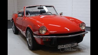 Triumph Spitfire 1500 Cabriolet 1977 Wire wheels -VIDEO- www.ERclassics.com