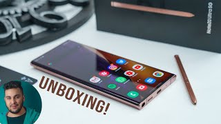 Samsung Galaxy Note 20 Ultra 5G Unboxing: PURE Gold in Android World!