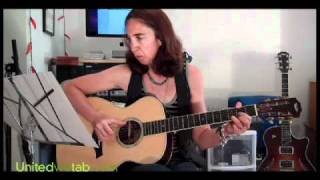 Dust in the Wind guitar lesson by Ann Klein.