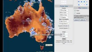 Now the Melbourne Radar 18th march Top 10 Video