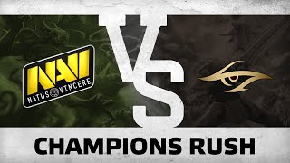 WATCH FIRST: Champions rush! by Na`Vi vs Secret @ SL i-League StarSeries S2 LAN