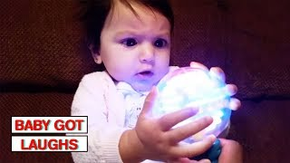 Babies Reacting to Lights! | Adorable Baby Compilation