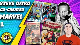 Episode 14.  Steve Ditko, co-creator of the Marvel Universe part 1 of 2  by Alex Grand