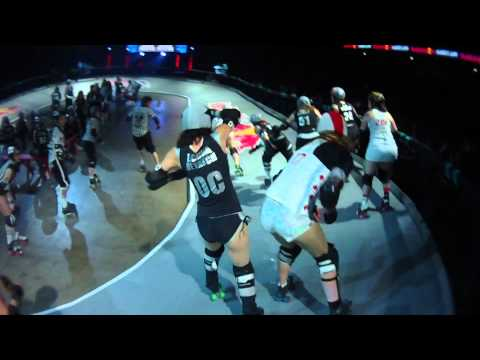 Roller Derby competition - Red Bull Banked Jam