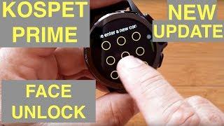 KOSPET PRIME Face Unlock Completely Changed! New Setup Process PLUS Hidden Trick
