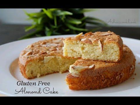gluten-free-almond-cake-/-4-ingredient-almond-cake-/-asheescookbook