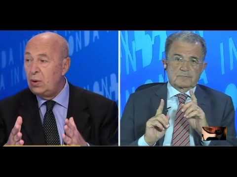 Romano Prodi Paolo Mieli Le ricette P.U.D.E 29/07/2015