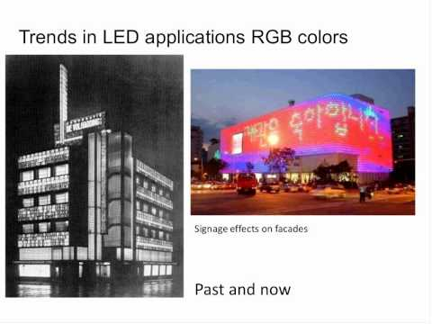 LEDs and Trends by Luc van der Poel