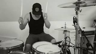 Falling Down (Travis Barker Remix) - Lil Peep & XXXTENTACION - (Drum Cover by Sven)