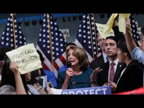 Pelosi gets a dose of the left's resistance movement