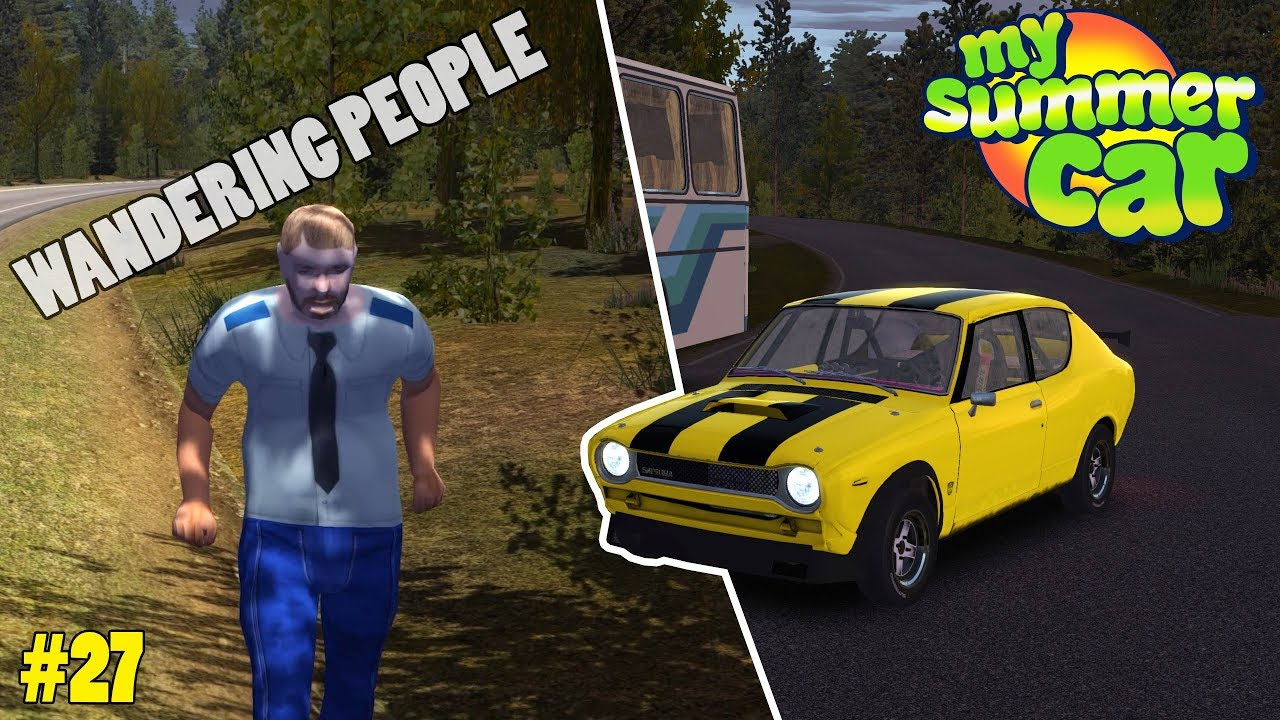 How To Be The Yellow Car Guy Zombies My Summer Car