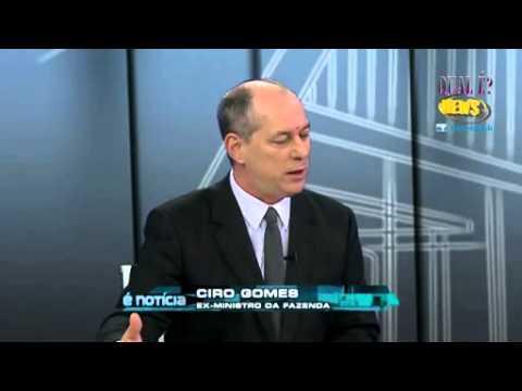 Bastam 3 minutos para Ciro Gomes definir Marina Silva - O atraso para o Brasil