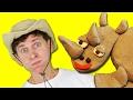 Safari Walk with Matt Kids Song | Wild Animals | Learn English Kids