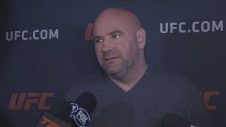UFC 223: Dana White Talks Conor McGregor, UFC 223 and More