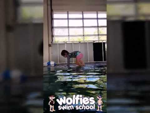 Just a couple of our little Wolfie swimmers!
