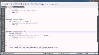 PHP Tutorials: Register & Login (Part 21): More Account Permissions
