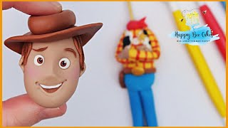 TOY STORY WOODY cake topper tutorial | Toy story cake