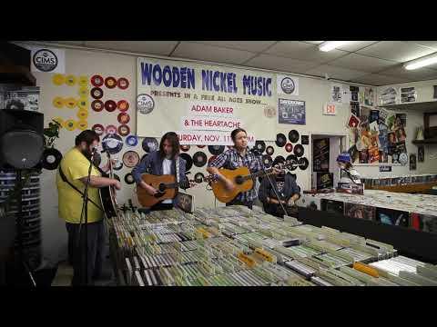 2017 ADAM BAKER & THE HEARTACHE @ WOODEN NICKEL RECORDS FORT WAYNE