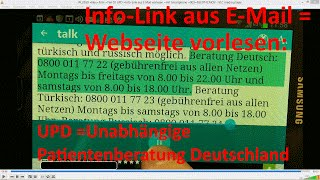W_0180 =Teil 03 UPD =Info-Link aus E Mail vorlesen =mit Smartphone