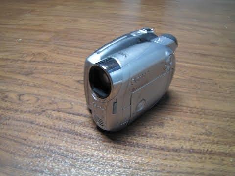Canon DVD CAMCORDER DC220 Reveiw