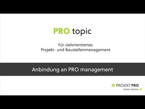 PRO topic Anbindung