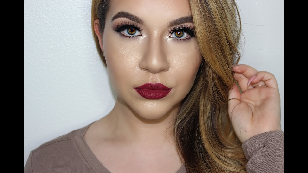 Fall Bridal Makeup Tutorial KatEyedTv YouTube