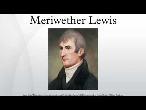 a biography of meriwether lewis an american explorer Meriwether lewis was an american explorer, soldier, and public administrator  lewis and clark: lifetales musical biography redlands, california.