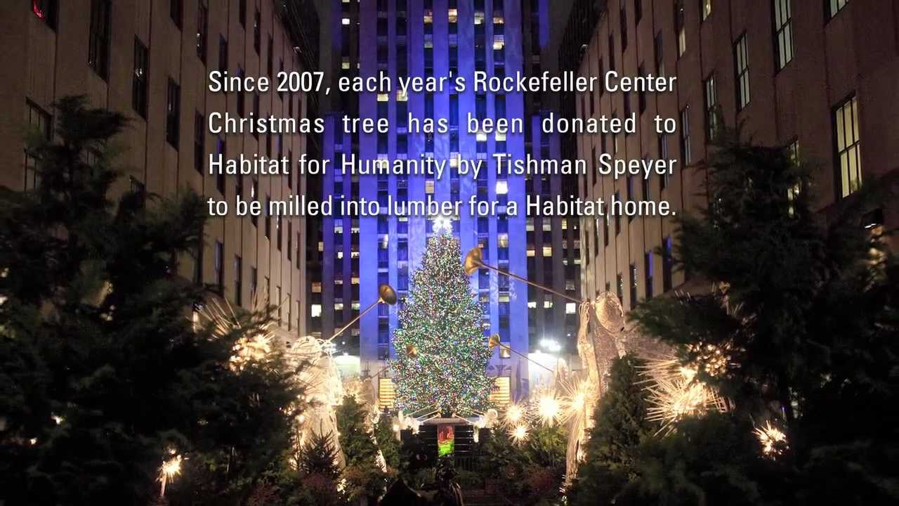 Habitat For Humanity And The Rockefeller Center Christmas