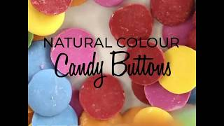 Colourful Candy Buttons Inspiration""
