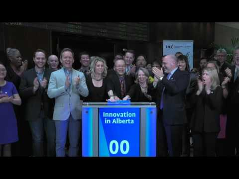 Innovation in Alberta closes Toronto Stock Exchange, March 21, 2016