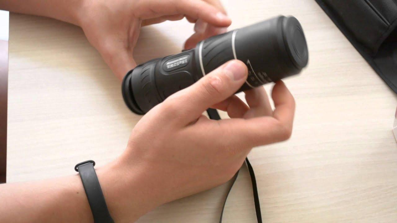 Test du patuoxun® télescope monoculaire youtube