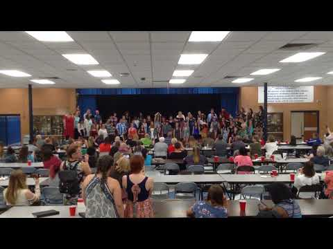"Guthrie High School Choir Performing ""This Is Me"", Monday, May 7th 2018"