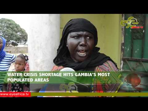 Water Shortage Problem in Gambia