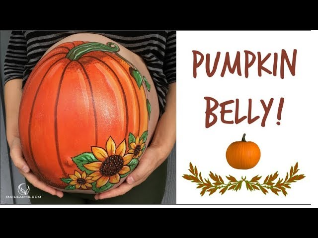 Pumpkin Belly Painting Time Lapse Youtube