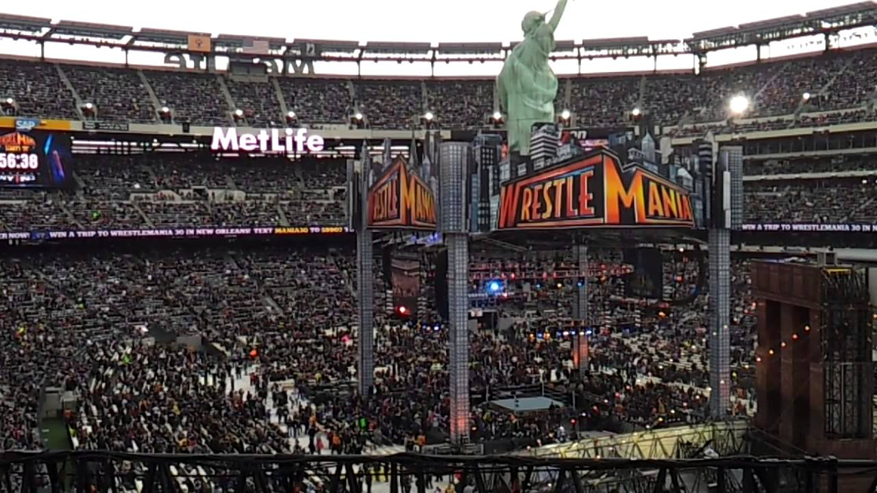 East Rutherford Nj >> WWE WRESTLEMANIA 29 METLIFE STADIUM PT. 2 - YouTube