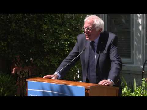 Democratic Party Reform Press Conference | Bernie Sanders