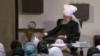 Gulshan-e-Waqfe Nau (Lajna) Class: 5th December 2009 - Part 5 (Urdu)
