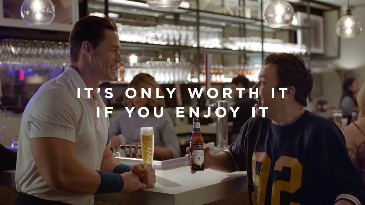 Michelob ULTRA: Super Bowl LIV - Jimmy Works It Out