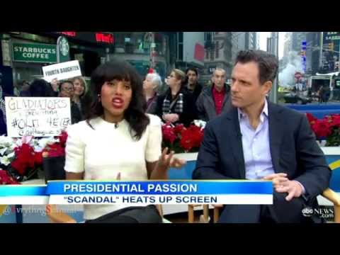 Scandal Stars Kerry Washington & Tony Goldwyn Discuss Shows Fashion