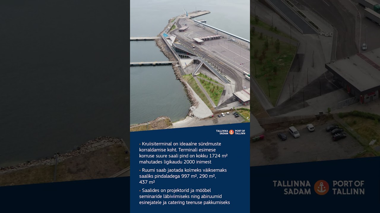 Põnevaid fakte Tallinna kruiisiterminali kohta