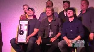 "Keith Urban Celebrates 20th No.1 Hit, ""Break On Me"""
