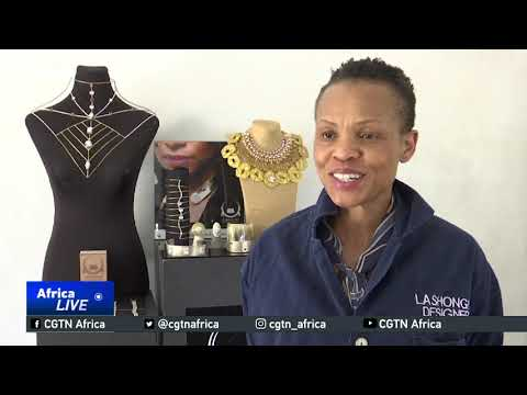 South Africa designer creates jewelry inspired from African traditional roots