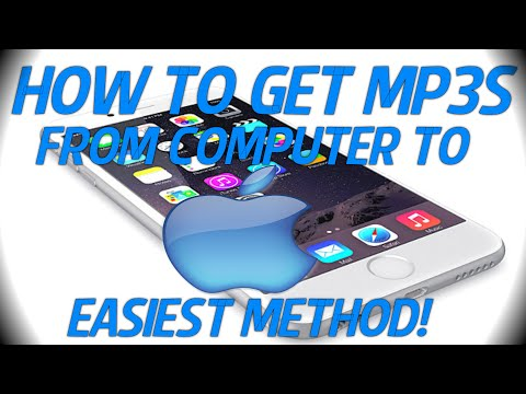 How To Put MP3's On Your Iphone/Ipod