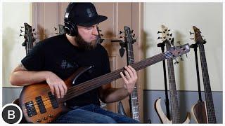 IBANEZ FRETLESS BASSES // SRF700 & SRF705 // BassTheWorld.com