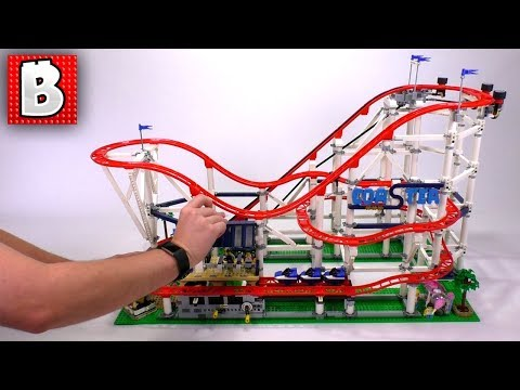 LEGO Roller Coaster is One Big Set! | Complete Review 10261