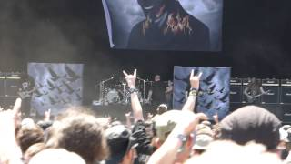 The Haunted - The Premonition/The Flood (live at Hellfest 2015)