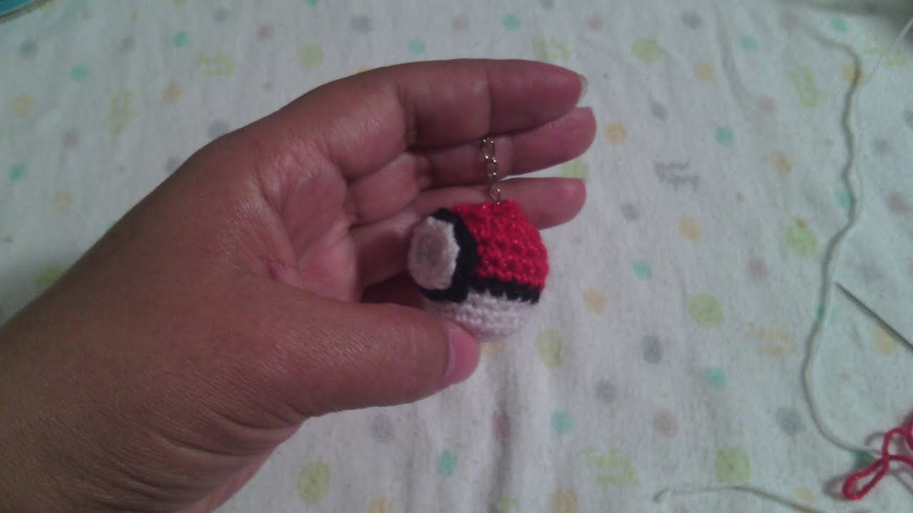 POKEBOLA A CROCHET FACIL Y RAPIDO - YouTube