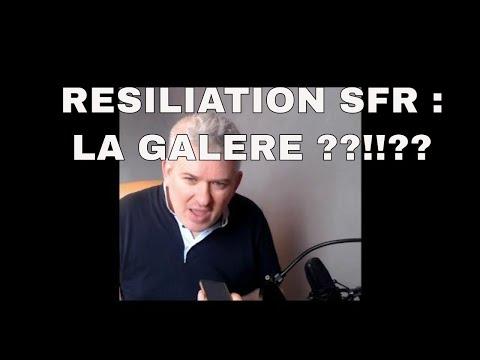 RESILIATION SFR