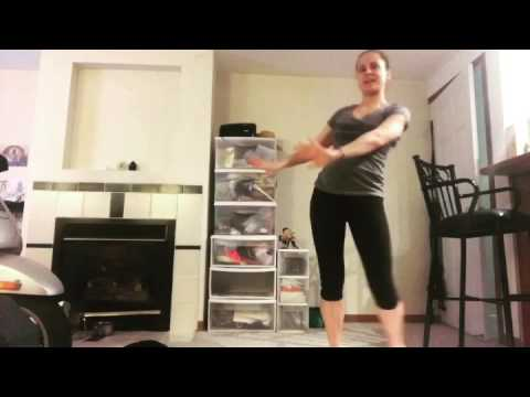 Demo of Yoga Booty Ballet Workout Program from Beachbody