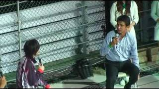 koichi domoto in suzuka. KinKiの光一君参加のF1日本GP2009前夜祭の様子を少し。